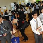 Large student turnout at UOWD career fair_original